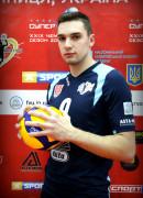 Довгий  Ілля гравець команди ВК Серце Поділля Вінниця, Україна
