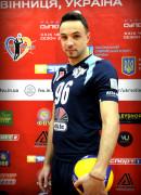 Клочко  Кирило гравець команди ВК Серце Поділля Вінниця, Україна
