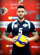 Щитков  Віталій гравець команди ВК Серце Поділля Вінниця, Україна