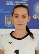 Жула  Ганна гравець команди Університет-ШВСМ Чернігів, Україна
