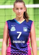 Грязіна  Дар'я гравець команди Регіна-МЕГУ-ОШВСМ Рівне, Україна