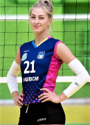 Коломієць  Інна гравець команди Регіна-МЕГУ-ОШВСМ Рівне, Україна