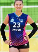 Мірчева  Ангеліна гравець команди Регіна-МЕГУ-ОШВСМ Рівне, Україна