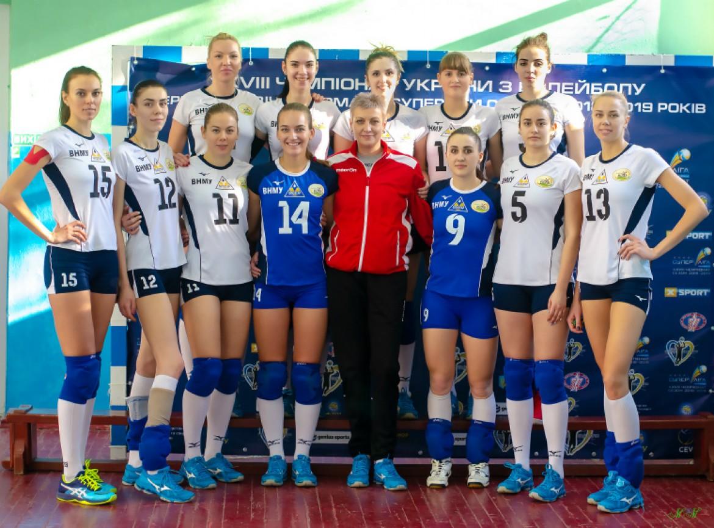 Склад команди Білозгар-Медуніверситет (Вінниця, Україна)