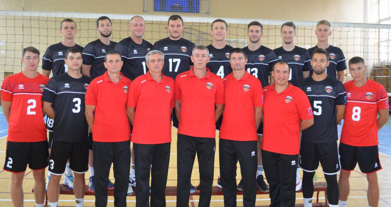 Склад команди ВК Дніпро (Дніпро, Україна)